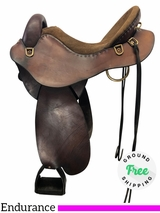 "16"" Used Steele Mountaineer Wide Endurance Saddle MT 282 M usst4182 *Free Shipping*"