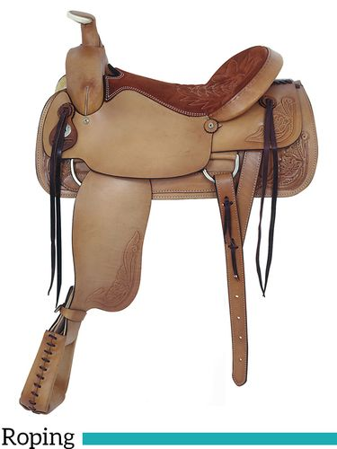 "17.5"" American Saddlery Pro-Dally Roper Saddle 1860"