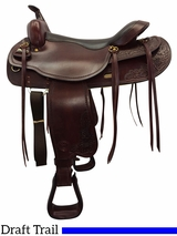 "17.5"" Big Horn Draft Horse Saddle 1683"