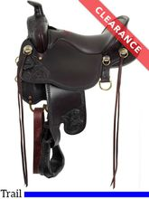 "SOLD 2019/08/30  15.5"" Tucker High Plains Trail Saddle T60, CLEARANCE"