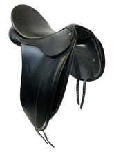 17.5Inch Used Bates Caprilli CAIR Dressage Saddle 204 *Free Shipping*