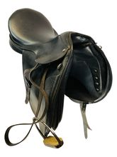 17.5Inch Used Collegiate Dressage Saddle  *Free Shipping*