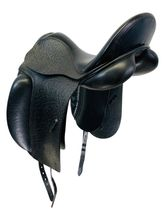 17.5Inch Used County Fusion XTR Dressage Saddle XTR *Free Shipping*
