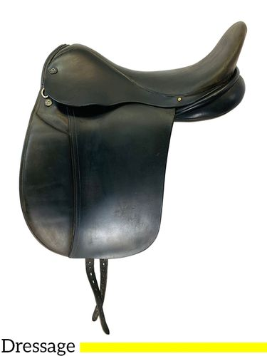 17.5Inch Used Frank Baines Dressage Saddle  *Free Shipping*