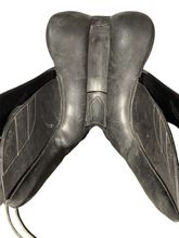 17.5Inch Used M. Toulouse Dressage Saddle  *Free Shipping*