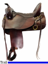 17.5Inch Used Tucker Buffalo Classic Saddle 270 *Free Shipping*