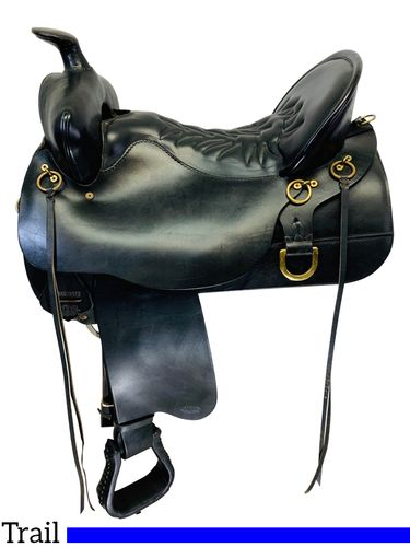 PRICE REDUCED! 17.5Inch Used Tucker Classic High Plains Saddle 260 *Free Shipping*