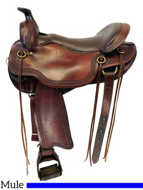 17.5Inch Used Tucker Gen II South Pass Mule Trail Saddle 288 *Free Shipping*