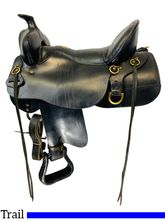 17.5Inch Used Tucker GenII High Plains Trail Saddle 262 *Free Shipping*