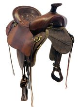 17.5Inch Used Tucker High Plains Trail Saddle 260 *Free Shipping*