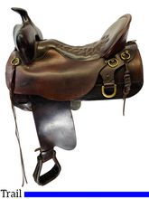SOLD 2020/10/19  17.5Inch Used Tucker High Plains Trail Saddle 260 *Free Shipping*
