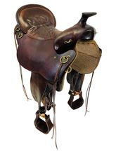 PRICE REDUCED! 17.5Inch Used Tucker High Plains Trail Saddle 260 *Free Shipping*