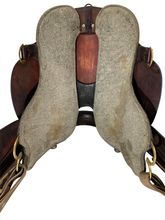 SOLD 2021/03/01 17.5Inch Used Tucker High Plains Trail Saddle T60 *Free Shipping*