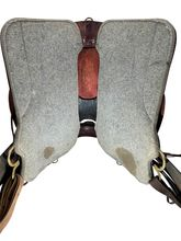 17.5Inch Used Tucker High Plains Trail Saddle tkT60 *Free Shipping*