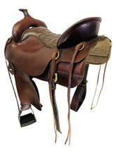 17.5Inch Used Tucker Trail Saddle 167 *Free Shipping*
