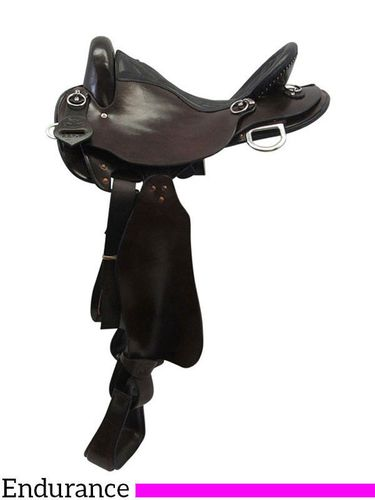 "17"" Big Horn Medium Endurance Saddle 831"