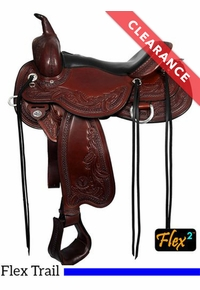 """SOLD 2020/06/26  17"""" Circle Y Julie Goodnight Monarch Saddle 1752, CLEARANCE"""