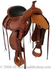 "SOLD 2019/11/29  15"" Circle Y Pioneer Flex2 Trail Saddle 1665, CLEARANCE"