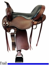 PRICE REDUCED! 17inch Big Horn Light Flex Tree Saddle FLOOR MODEL 810 usbh4529 *Free Shipping*