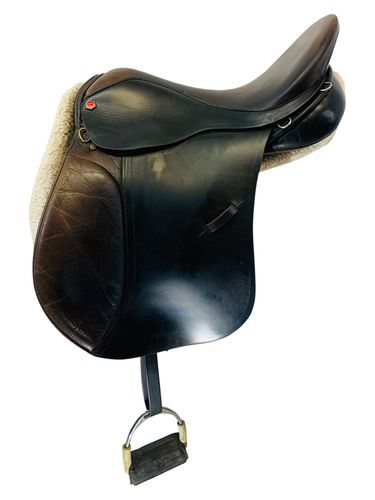 17 Inch Used Albion All Purpose Saddle Custom *Free Shipping*