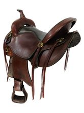 SOLD 2021/06/12  17 Inch Used Big Horn Evolution Trail Saddle 1691 *Free Shipping*
