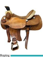 SOLD 2019/11/12  17 Inch Used Billy Cook Dally Team Roper Saddle 9111 *Free Shipping*