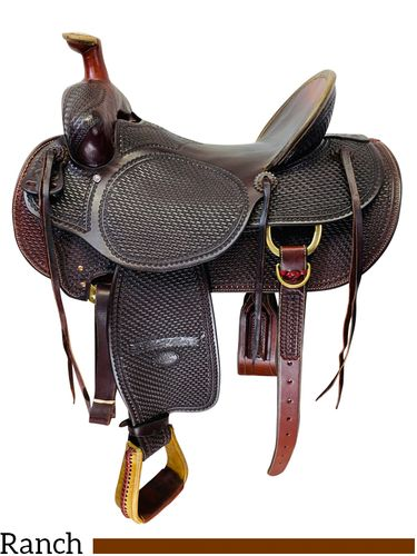 PRICE REDUCED! 17 Inch Used Billy Cook High Country Rancher Saddle 2175 *Free Shipping*