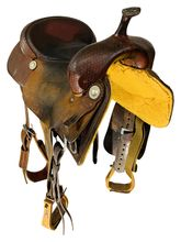 17 Inch Used Billy Cook Pro Cutter Saddle 8940 *Free Shipping*