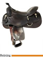 SOLD 2021/10/07  16 Inch Used Billy Royal Reining Saddle Custom *Free Shipping*