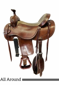 17 Inch Used Cashel by Martin Outfitter Trail All-Around Saddle  CO *Free Shipping*