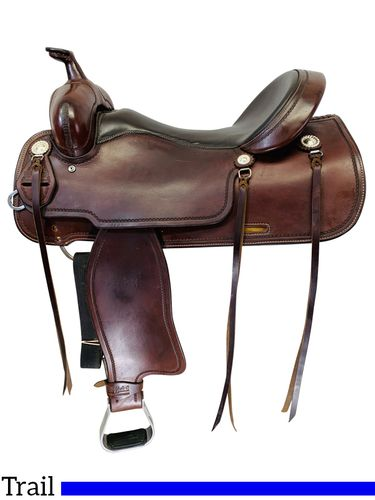 PRICE REDUCED! 17 Inch Used Cashel Trail Blazer by Martin Saddlery Saddle SA-TB *Free Shipping*