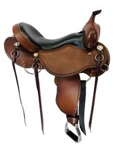 17 Inch Used Cashel Western Trail Saddle ChCT *Free Shipping*
