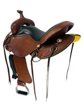 SOLD 2021/06/15  17 Inch Used Cashel Western Trail Saddle ChCT *Free Shipping*