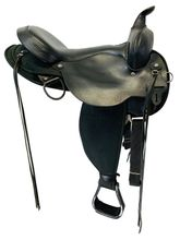17 Inch Used Circle Y El Campo Trail Saddle  6970 *Free Shipping*