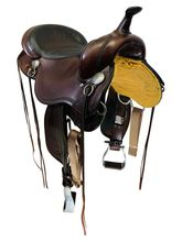 17 Inch Used Circle Y Gillette Trail Saddle 2615 *Free Shipping*