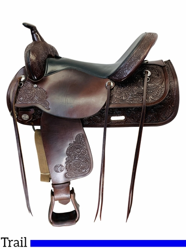 17 Inch Used Circle Y Park and Trail Saddle 3604 *Free Shipping*