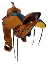 PRICE REDUCED! 17 Inch Used Circle Y Pioneer Flex2 Trail Saddle 1665 *Free Shipping*