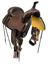 SOLD 2021/03/01  17 Inch Used Circle Y Topeka Flex Trail Saddle 1651 *Free Shipping*