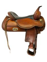 17 Inch Used Circle Y Topeka Trail Saddle 1551 *Free Shipping*