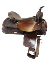 SOLD 2021/05/06  17 Inch Used Circle Y Trail Saddle 3604 *Free Shipping*