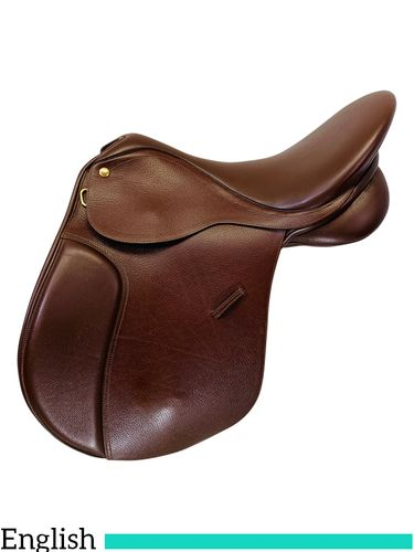 DISCONTINUED 2019/10/25  17 Inch Used Collegiate All Purpose English Saddle C1302279 *Free Shipping*