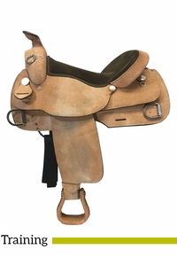 17 Inch Used Dakota Training Saddle 920 *Free Shipping*