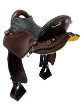 PRICE REDUCED! 17 Inch Used Double Creek by Henry Miller Endurance Saddle 115 *Free Shipping*