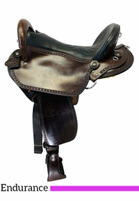 SOLD 2020/10/14  PRICE REDUCED! 17 Inch Used Double Creek by Henry Miller Endurance Saddle 115 *Free Shipping*