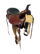 SOLD 2021/04/13 17 Inch Used High Horse Daisetta Trail Saddle 6914 *Free Shipping*