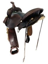 17 Inch Used High Horse Round Rock Gaited Trail Saddle 6870 *Free Shipping*