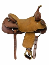 SOLD 2020/11/25  17 Inch Used HR Cutting Saddle Custom *Free Shipping*