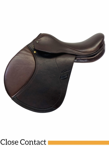 PRICE REDUCED! 17 Inch Used M. Toulouse Natina DL Close Contact Saddle 37657 *Free Shipping*