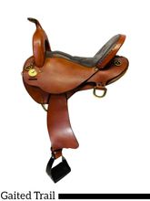 SOLD 2019/10/02  17 Inch Used National Bridle Shop Wide Gaited Saddle 5367 *Free Shipping*