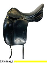 17 Inch Used Prestige Dressage Saddle 2000 D *Free Shipping*